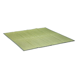 掛川織りの花ござ ぼかし グリーン
