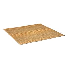 掛川織り 升格子 ブラウン